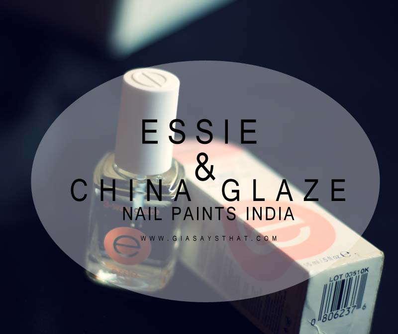 Where to purchase/buy China glaze and Essie Nail Polishes in India ?