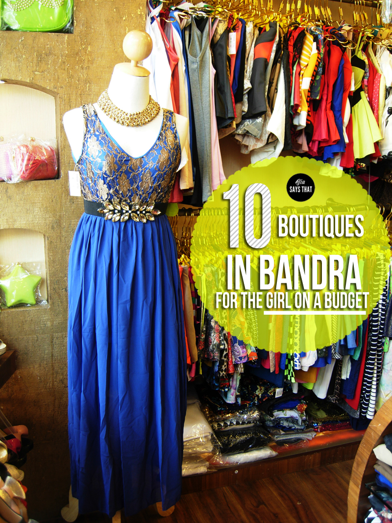Best boutique stores in Mumbai