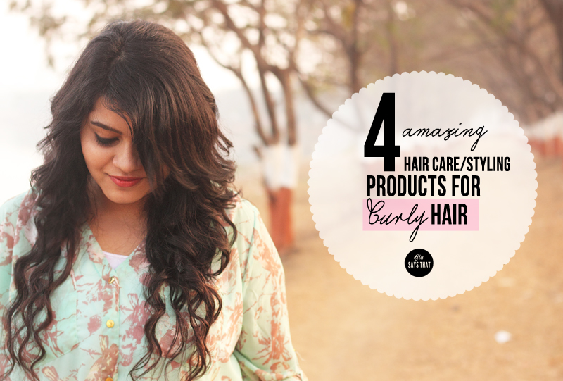 AMAZING HAIR CARE/STYLING PRODUCTS FOR CURLY HAIR