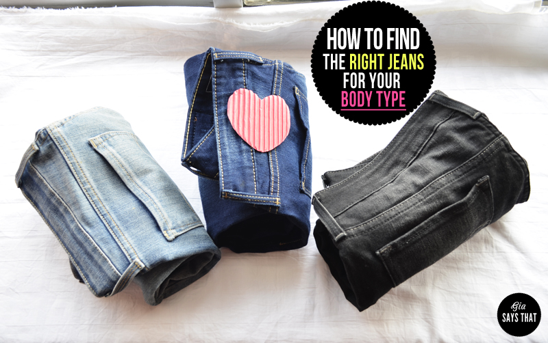 HOW TO SELECT THE RIGHT JEANS FOR YOUR BODY TYPE