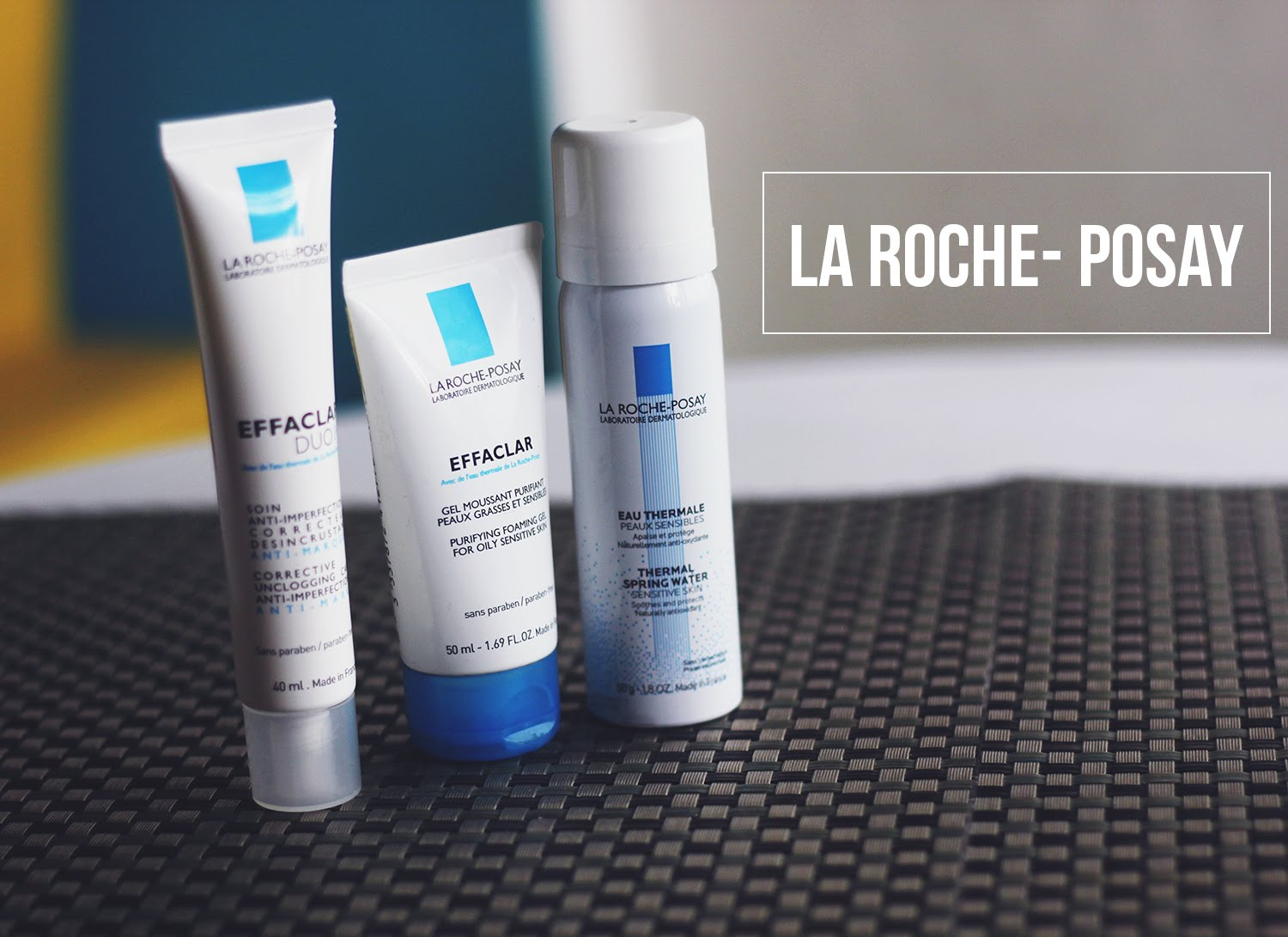 la roche posay effaclar range review video. Black Bedroom Furniture Sets. Home Design Ideas