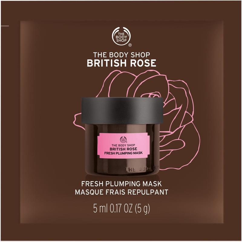 Body Shop British Rose Plumping Mask -
